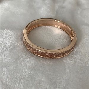 Rose gold bracelet costume jewelry